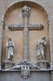 Monastère de San Juan de los Reyes à Toledo, Espagne image libre de droits