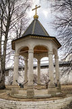 Monastère de Savvino-Storozhevsky Zvenigorod, Russie image libre de droits