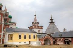 Monastère de Savvino-Storozhevsky Zvenigorod, Russie photographie stock libre de droits
