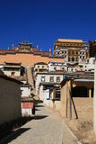 Monastère de Shangrila Photos libres de droits