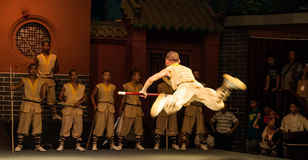 Monastère de Shaolin image libre de droits