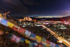 Monastère de Shigatze au Thibet Photo libre de droits