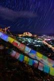 Monastère de Shigatze au Thibet Image libre de droits