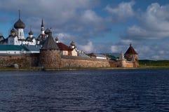 Monastère de Solovetsky Images libres de droits
