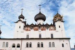 Monastère de Solovetsky Photos stock