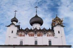 Monastère de Solovetsky Photo stock