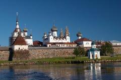 Monastère de Solovetsky Photos libres de droits
