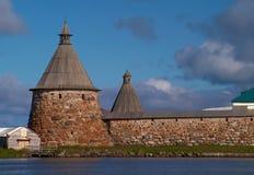 Monastère de Solovetsky Photographie stock libre de droits