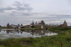 Monastère de Solovetsky Photographie stock