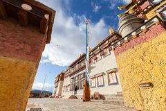 Monastère de Songzanlin dans Shangrila, Chine Images libres de droits