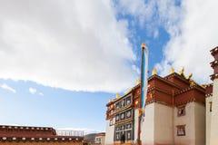 Monastère de Songzanlin dans Shangrila, Chine Photos libres de droits