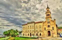 Monastère de St Frane dans la fente Photographie stock libre de droits