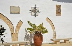 Monastère de St Michael, Lliria, Espagne Image libre de droits