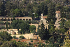 Monastère de St Neofitas Paphos cyprus photo libre de droits