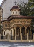 Monastère de Stavropoleos à Bucarest Image stock