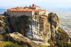 Monastère de Stefanos d'agios Images libres de droits