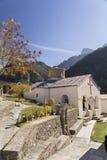 Monastère de stomiou de Konitsa image stock
