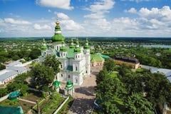 Monastère de supposition d'Eletskiy dans Tchernigov Photo stock