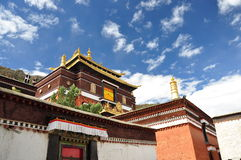 Monastère de Tashilhunpo image stock