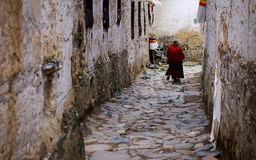Monastère de Tashilhunpo photographie stock