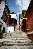 Monastère de Tashilhunpo au Thibet Photographie stock libre de droits