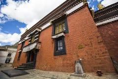 Monastère de Tashilhunpo dans le plateau tibétain Photo libre de droits