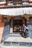 Monastère de Tashilhunpo dans le plateau tibétain Images stock