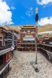 Monastère de Tashilhunpo dans Shigatse Photo libre de droits