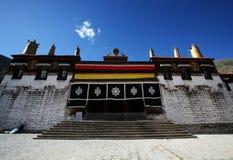 Monastère de Tashilhunpo de bouddhisme au Thibet Photos stock