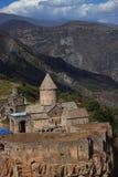 Monastère de Tatev dessus au sud de l'Arménie Image stock