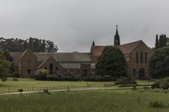Monastère de trappiste notre Madame d'abbaye d'anges images stock