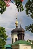 Monastère de trinité sainte à Kiev Photographie stock libre de droits