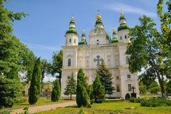 Monastère de trinité sainte dans Chernihiv Images stock