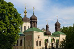 Monastère de trinité sainte de St Jonas Photo stock