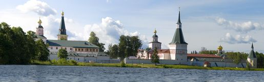 Monastère de Valday Iversky, Russie Images stock