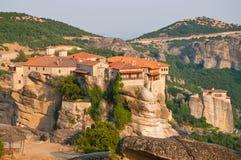 Monastère de Varlaam chez Meteora Photographie stock libre de droits