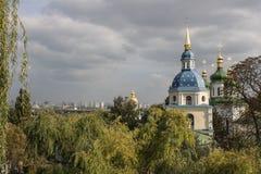 Monastère de Vydubychi photo stock