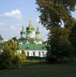 Monastère de Vydubytsky Photos libres de droits