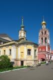 Monastère de Vysoko-Petrovsky à Moscou, Russie Photos stock