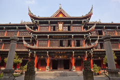 Monastère de Wenshu à Chengdu Image stock