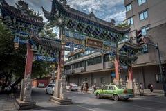Monastère de Wenshu, Chengdu, Chine Photo stock