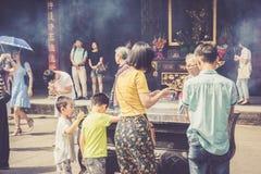 Monastère de Wenshu, Chengdu, Chine Image stock