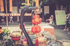 Monastère de Wenshu, Chengdu, Chine Image libre de droits