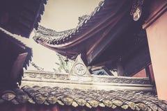 Monastère de Wenshu, Chengdu, Chine Photos stock
