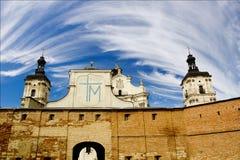 Monastère des Carmélites Discalced dans Berdichev Photographie stock libre de droits