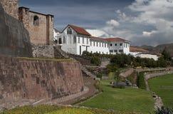 Monastère dominicain dans Cusco Image libre de droits
