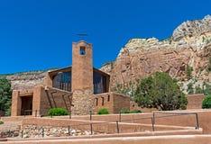 Monastère du Christ dans le désert Images stock