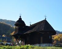 Monastère en bois Photographie stock libre de droits