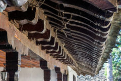 Monastère en bois de Troyan de modèles, Bulgarie Images libres de droits
