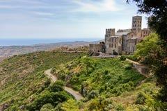 Monastère espagnol Images libres de droits